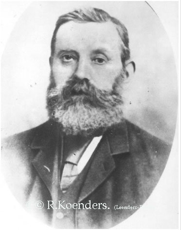 De Haas Franciscus 1838 - 1911, gehuwd met Maria Janssen. GG-Grootvader