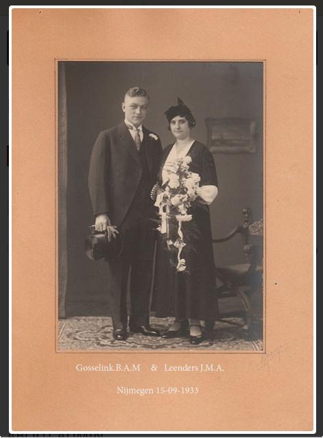 Gosselink-Leenders 1933 Nijmegen